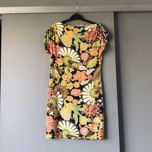 Trina Turk Arena Printed Shift Dress